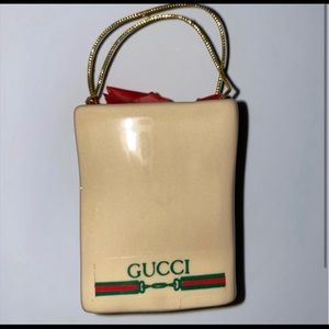 GUCCI Ceramic Shopping Bag Magnet